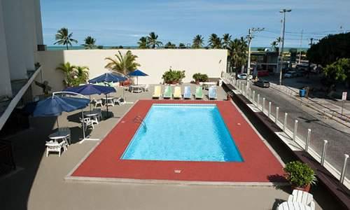 recife praia hotel - piscina