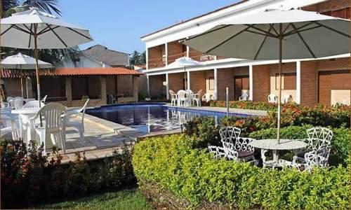 piscina da pousada coqueiro verde