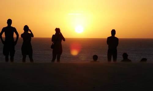 pousada jeribá - por do sol em Jericoacoara