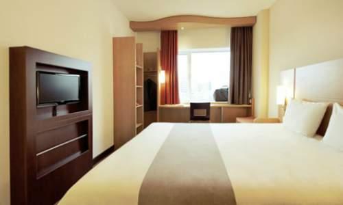 hotel ibis recife - quarto