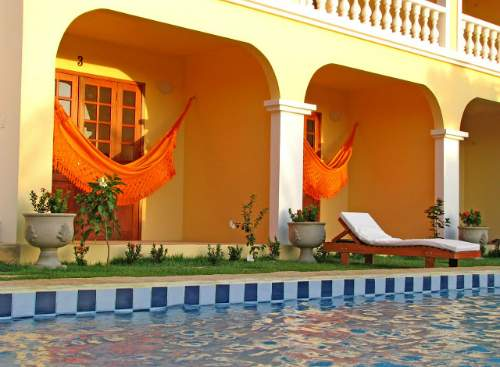 Hotel Villa Terra Viva em jericoacoara - varanda