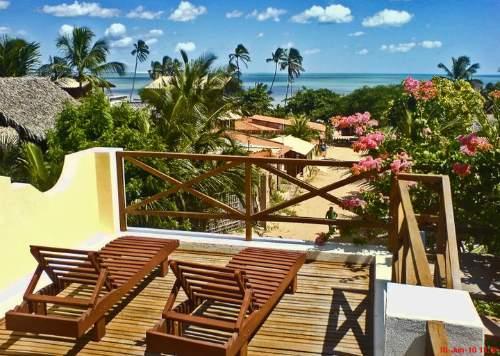 Hotel Villa Terra Viva em jericoacoara - vista praia