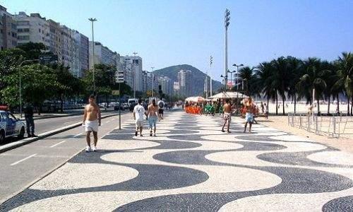 calçadao de copacabana