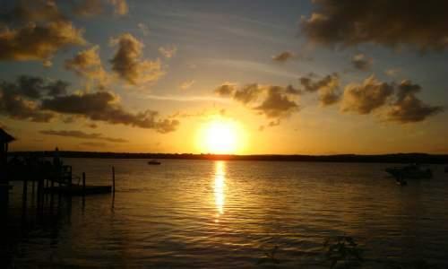 por do sol praia do jacaré