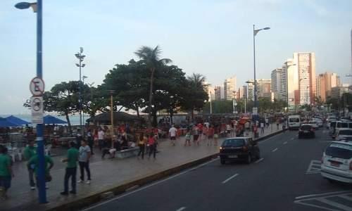 Hotel Diogo em Fortaleza - praia meireles