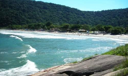 Melhores praias para o banho no Litoral de São Paulo - 03 GUAIÚBA
