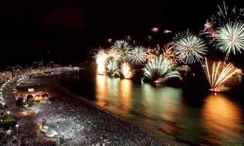 Réveillon 2014 - As melhores festas para passar o ano novo no litoral do Brasil - Reveillon copacabana