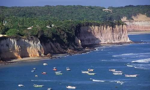 Praia de Pipa, a praia mais badalada do Rio Grande do Norte - praia de pipa falesias
