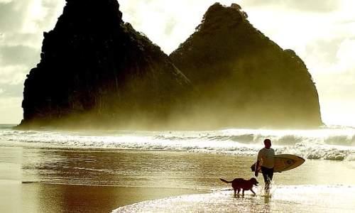 Melhores Praias para Surfar no Brasil - cacimba de pade  Foto Lucas LandauCreative CommonsDivulgação (PE)