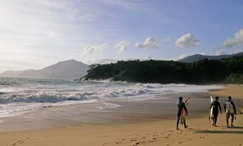 Melhores praias para surfar em São Paulo – Litoral Norte - praia  de Paúba