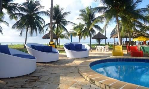 Bitingui Praia Hotel em Japaratinga, Alagoas - piscina - 02