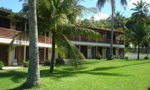 Bitingui Praia Hotel em Japaratinga, Alagoas - vista lateral
