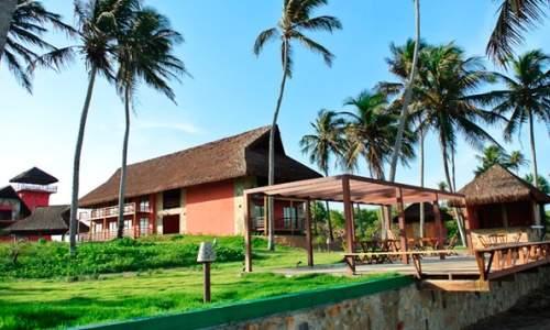 carnaubinha praia resort - fachada
