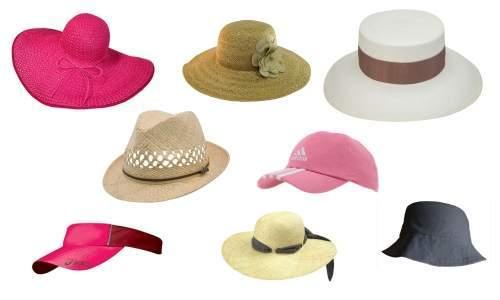 chapeus e bones ideais para usar na praia