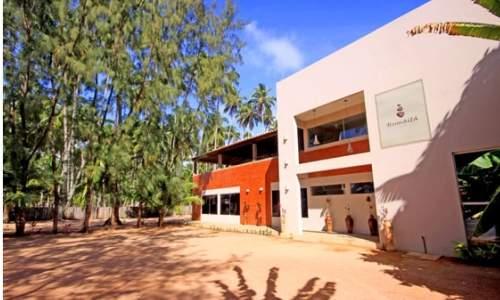 Pousada Humaitá em Japaratinga, Alagoas - entrada