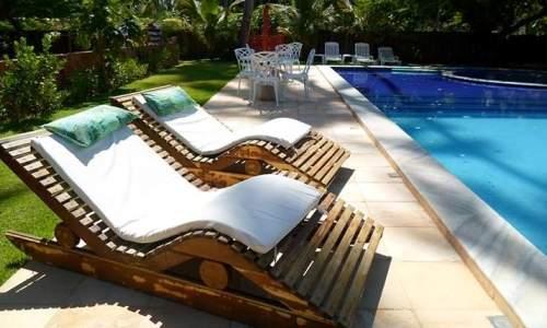 Pousada Humaitá em Japaratinga, Alagoas - relax na piscina