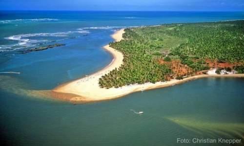 Praia do Gunga, paraíso no litoral de Alagoas - 03