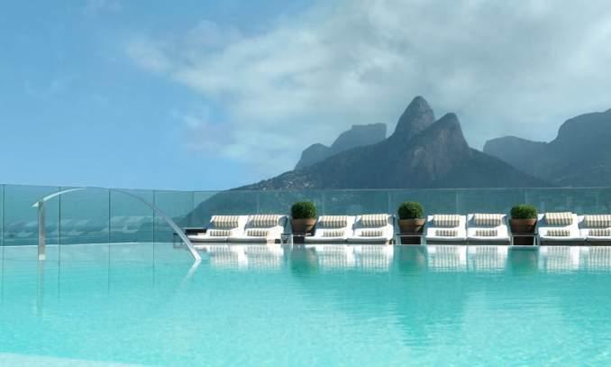 piscina do hotel fasano no rio