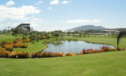 resort costao do santinho - campo de golf