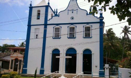 Passeios em Morro de São Paulo - Bahia igreja