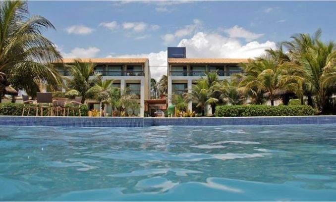 hotel villa da praia em itapua - 01