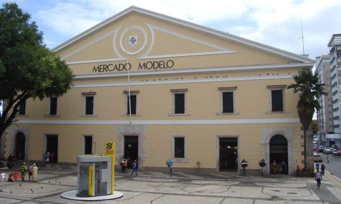 Mercado modelo o artesanato de Salvador - Bahia