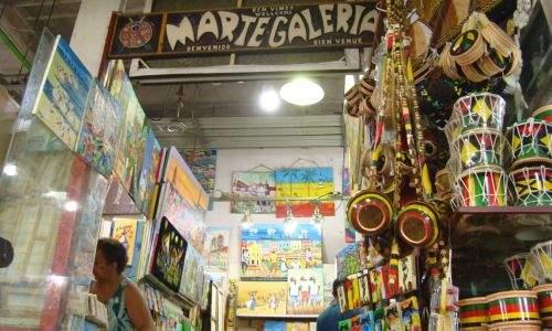 Mercado modelo o artesanato de Salvador - Bahia - 06