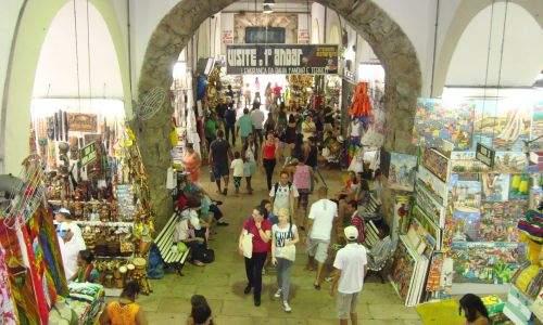 Mercado modelo o artesanato de Salvador - Bahia - 08