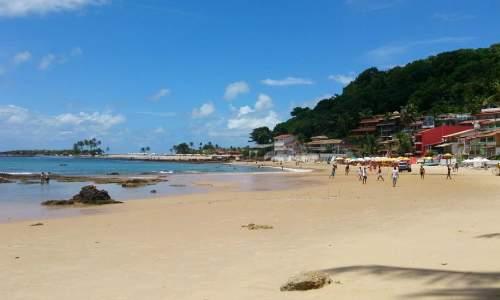 Praias em Morro de São Paulo - Bahia primeira praia