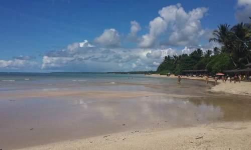 Praias em Morro de São Paulo - Bahia quarta praia
