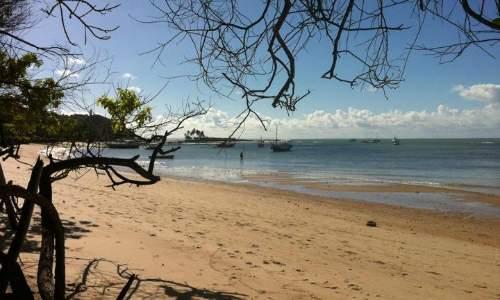 Praias em Morro de São Paulo - Bahia terceira praia