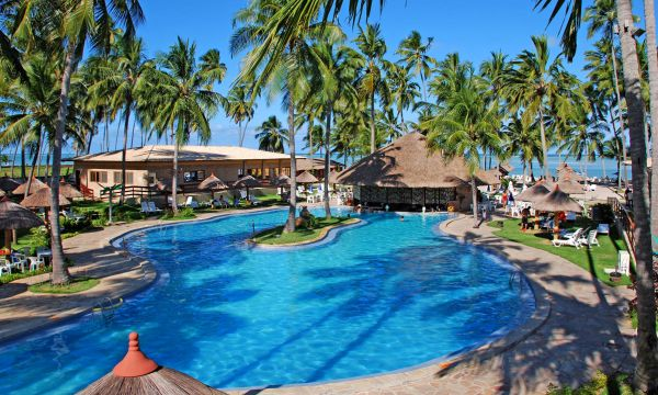 All Inclusive - Os melhores Resorts do Nordeste - grand oca maragogi all inclusive - vista da piscina