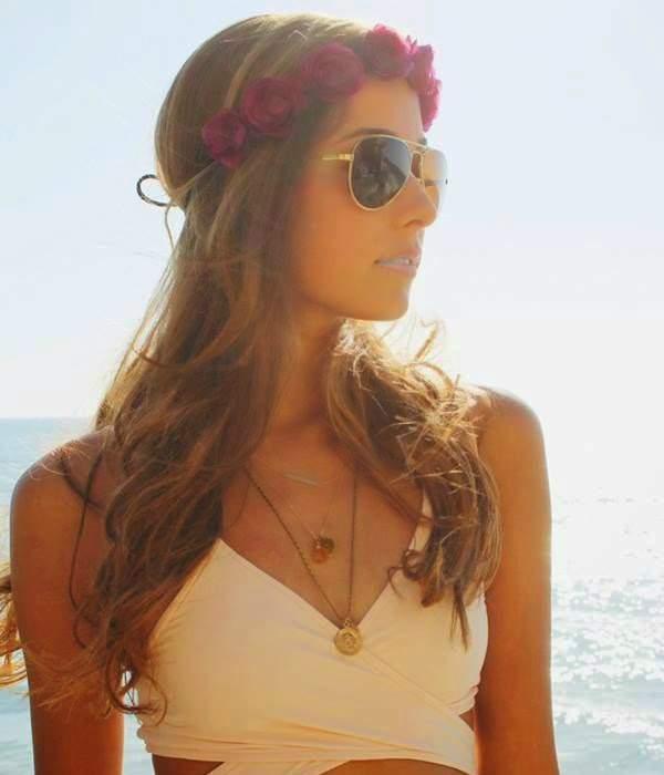 Cabelos de praia:Penteados para usar na praia 04