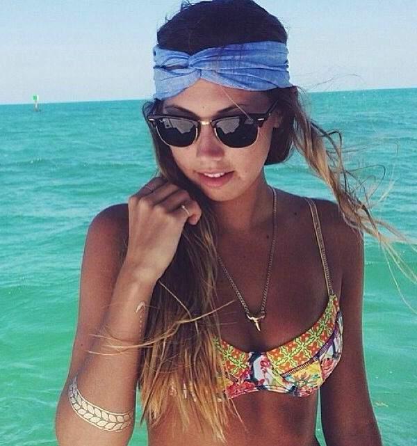 Cabelos de praia:Penteados para usar na praia 09